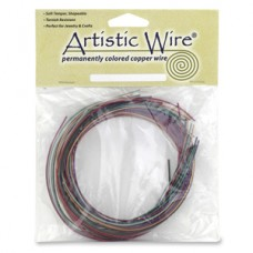 18ga variety pack of permanently coloured copper wire