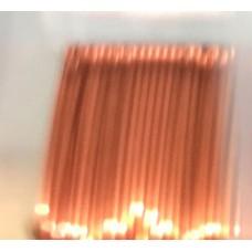 Beadalon 28ga Artistic Wire, Burnt Brown, 40YD