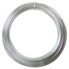 Silver Colour Aluminium Wire, 12ga (2.1mm) 39 ft