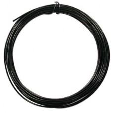 Black colour Aluminium Wire, 12ga (2.1mm) 39 ft (11.88m)