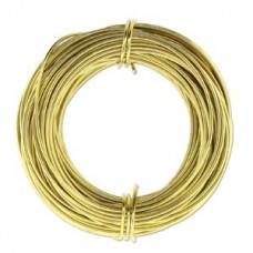 Light Gold 18ga Aluminium Wire, 39ft (11.7m)