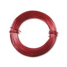 Red 18ga Aluminium Wire, 39ft (11.7m)