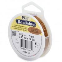 beadalon 19 strand satin colour beading wire