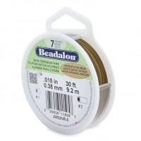 Beadalon stain beading wire in 7 strand