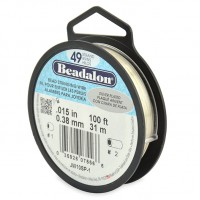 beadalon 49 strand beading wire for professional jewellers