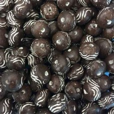 Oval Clay Beads, Brown, Pack of 10