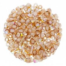 Crystal Brown Rainbow 2mm Firepolished Beads 150pcs