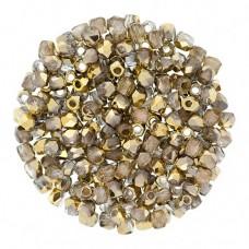 Crystal Amber 2mm Firepolished Beads 150pcs