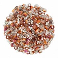 Crystal Sunset 2mm Firepolished Beads 150pcs