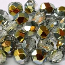6mm Fire Polished Crystal Marea, 50pcs