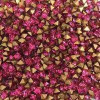 Swarovski Carres Crystal Square Chatons - Rose x 100 pcs