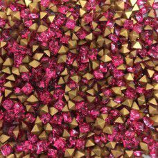 Wholesale Pack Crystal Carres Square Chatons, 3mm Rose, Approximately 1000 Piece...