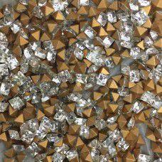 Swarovski Chatons Carres Crystal Square - Crystal x 100 pcs