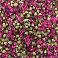 Wholesale Pack Crystal Chatons, 3.8mm Rose, Approx 1000 Pieces