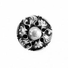 14mm Flat Designed Fancy Bead
