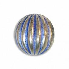17mm Onion Blue Denim Bead, ON17/BDS