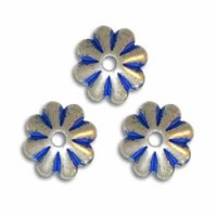 Blue Denim Beads