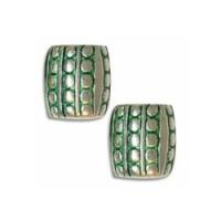 Green Patina Beads