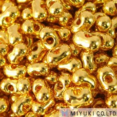 Miyuki 24kt Gold Plated Berry Berry Beads, Approx 5 Grams