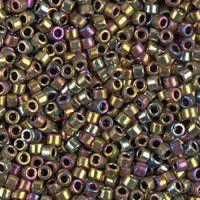 Purple AB Metallic Gold, Colour Code 0029, Size 11/0 Delicas, 5.2g approx.