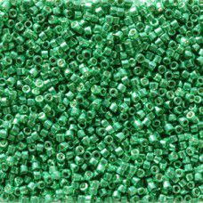 Dark Green Mint Galvanised Duracoat colour 2505, size 11/0 Miyuki Delicas, 5.2g ...
