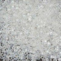 Crystal Luster size 8/0 Hex Cut Delica, 50gm bag, Colour Code 50