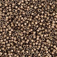 Bronze Metallic, Colour Code 0022, Size 11/0 Delicas, 5.2g approx.