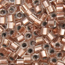 Copper Crystal Lined, Colour Code 0037, Size 11/0 Delicas, 5.2gm