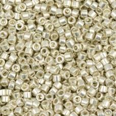 Silver Galvanized, Colour Code 0035, Size 11/0 Delicas, 5.2g