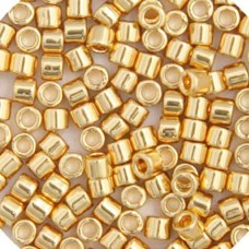 Gold 24kt Plated, Colour Code 0031, Size 11/0 Delicas, 3.3g approx.