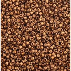 Light Bronze Metallic, Size 11/0 Delica, Colour Code 0022L, 50gm Bag