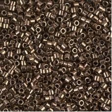 Bronze Metallic Size 8/0 Miyuki Delica, Colour Code 0022, 5.2g approx.