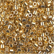 24Kt Gold, Approx 3.3gr, Size 8/0 Delica, Colour Code 0031