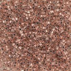 Copper Lined Size 8/0 Miyuki Delica, Colour Code 0037, 5.2g approx.
