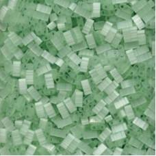 Silk Pale Green Miyuki Half TILA Beads, Colour 2559, 5.2g appx.