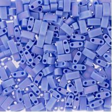 Opaque Periwinkle Matted AB Miyuki Half TILA Beads, Colour 0417L/FR, 5.2g appx.