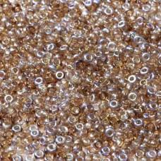 Bulk Bag Crystal Brown Rainbow Coated Beads, 250gm