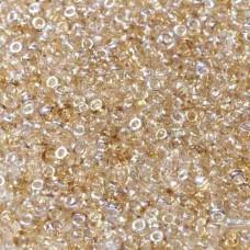 Crystal Lemon Rainbow Coated Beads, 22gm