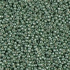 Galvanised Sea Green Duracoat, Colour 4215, Miyuki 11/0, 22g approx.