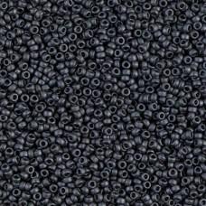 Matte Metallic Slate, Colour 2065, Miyuki 11/0, 22g approx.