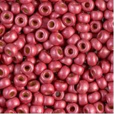 Matte Galvanised Light Cranberry Duracoat, Colour 4211F, Miyuki 11/0, 22g approx...