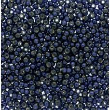 Dark Navy Blue Silver Lined Duracoat Miyuki 6/0 seed beads, Colour 4282, 20g app...