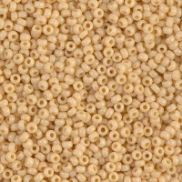 Miyuki Size 11 Seed Beads, Opaque Pear, Colour 0493, 22g Approx.