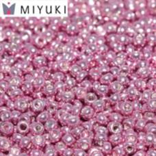 Galvanized Rose Miyuki 11/0 Seed Beads, 22g, Colour 1061