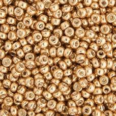 Bulk Bag Gold Galvanized Miyuki 11/0 Seed Beads, 250g, Colour 1052