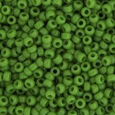 Green Pea Opaque Miyuki size 6/0 Colour  0411, 20g