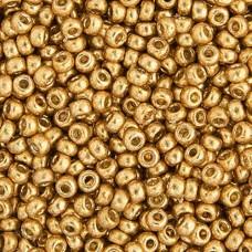 Duracoat Galvanized Gold Miyuki size 6/0 Colour  4202, 20g approx.