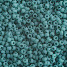 Turquoise Green Opaque Matte Miyuki 11/0 Seed Beads, 250g, Colour 0412F