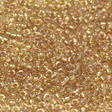 Bulk Bag Blush Fancy Lined Size 11/0 Miyuki Seed beads, Colour 3521, 250g