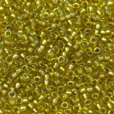 Bulk Bag Sunflower Fancy Lined Size 11/0 Miyuki Seed beads, Colour 3524, 250g